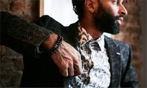 onyx skull bracelet images Skull bead bracelet onyx simon carter jpg