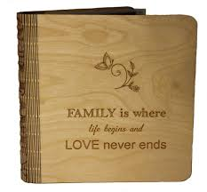 engraved photo albums living hinge engraved wooden photo albums