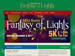 fantasy of lights 5k msu burns fantasy of lights 5k 1 mile fun run tx usa dec 02