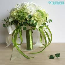 Wedding Flowers Cape Town Green And White With The Ball Daisy Hydrangea Korean Bridal