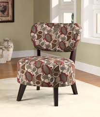 Burgundy Accent Chairs Living Room Chairs 42 Magic Flawless Armless Occasional Chairs That Can
