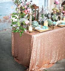 Cheap Table Linens For Rent - champagne blush sequin fabric champagne sequin table linen