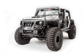 starwood motors jeep white fab fours front grumper for 07 16 jeep wrangler u0026 wrangler