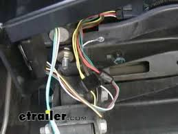 trailer wiring harness installation 2007 gmc canyon etrailer