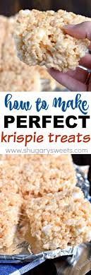 rice krispie treats shugary