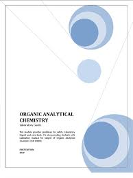 lab manual organic analytical chemistry high performance liquid