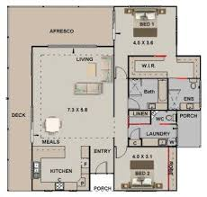 35 best 2 bedroom house plans images on pinterest house floor