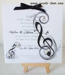 faire part mariage musique faire part musical x1 ref 10411