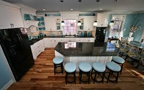 Kitchen Island Posts Teal Appeal Kitchen Point Pleasant New Jersey By Design Line Kitchens