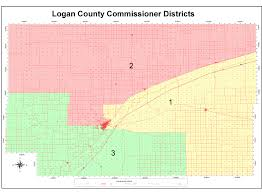 Colorado Counties Map Logan County Commissioners Logan County