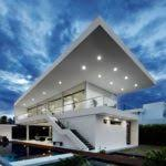 Modern Looking Houses Modern House Plans Houseplans Architecture Plans 76079