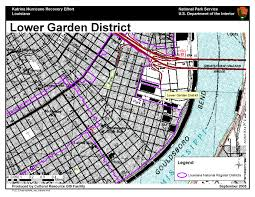 New Orleans Street Map Pdf by Ncptt Maps And Lists Katrina Rita