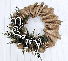 burlap christmas burlap christmas wreaths bazaraurorita