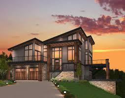 Architectural Designs House Plans by Exclusive Trendsetting Modern House Plan 85147ms Architectural