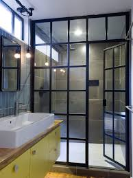 Shower Doors San Francisco San Francisco Bathroom Doors Glass Industrial With Horizontal