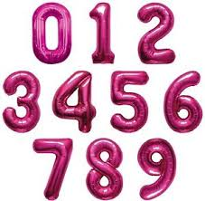 number balloons delivered balloons for u basingstoke for all your party requirements 34