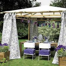 Diy Backyard Canopy 20 Diy Outdoor Curtains Sunshades And Canopy Designs For Summer
