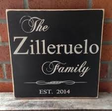 rustic custom family name signs and wall plaques heartwood gifts