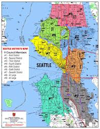Map Seattle University by Seattle Districts Now