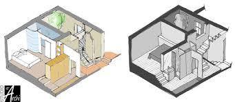 plan chambre parentale avec salle de bain et dressing studio d archi le d architecte de nicolas sallavuard côté