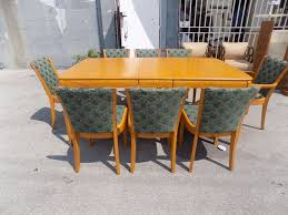 Mid Century Modern Furniture Miami by Details About Vintage Heywood Wakefield Dining Room Set From
