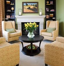 how to decorate a round coffee table for christmas round coffee tables for a more usable space small living room table