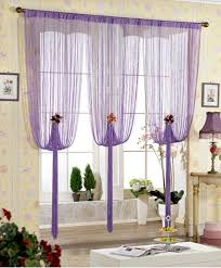 Light Purple Curtains Rain Curtain Home Decor Accents To Romanticise Modern Interior Design