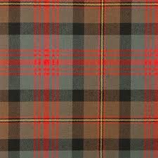 maclennan weathered heavy weight tartan fabric lochcarron of