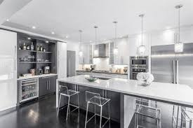 Contemporary White Kitchen Designs Grey Modern Kitchen Design Catchy Gray Cabinets Light Wood White