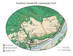 Green Circle Trail Map Trails U2013 Southern Humboldt Community Park