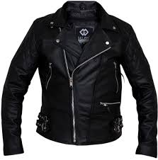 blue motorbike jacket mens classic brando biker style real leather jacket b2 amazon co