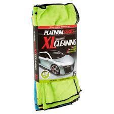 platinum series microfiber xl cleaning interior u0026 exterior