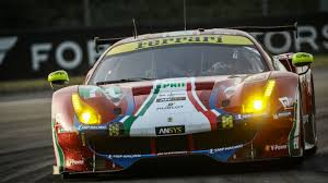 aston martin racing af corse and aston martin racing claim gte pole positions for 6h