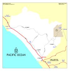 Map Of Carlsbad Ca Naval Hospital Camp Pendleton