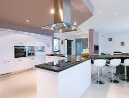 cuisine ouverte sur s駛our cuisine ouverte moderne idées de décoration capreol us