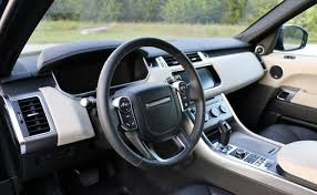 range rover interior 2017 2017 land rover range rover sport hse td6 test drive review