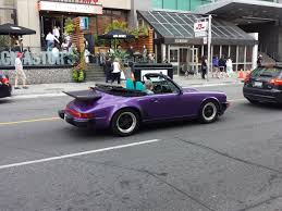 porsche whale tail porsche 911 carrera in purple