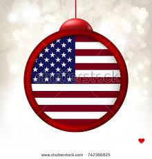 merry flag usa on stock vector 742366825