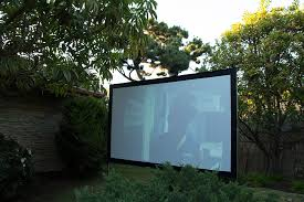 Backyard Projector Screen by Vapex Projectoscreen Portable 120hd Indoor Outdoor Screen