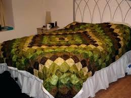 green man quilt by louisechughes sage green and brown duvet cover