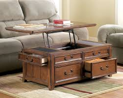 Furniture Extraordinary Rustic Storage Coffee Table Ideas Brown - Complete living room sets