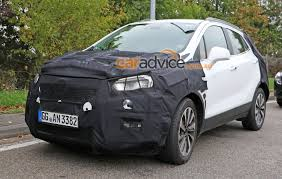 opel mokka interior 2017 2016 opel mokka facelift spied could opel u0027s little suv replace