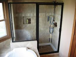 Corner Shower Stalls For Small Bathrooms Fit Shower Stall In Small Bathroom Fancy Home Design