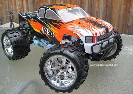 nitro monster trucks rc monster nitro truck 1 8 scale radio control rc 4wd 2 4g 94862