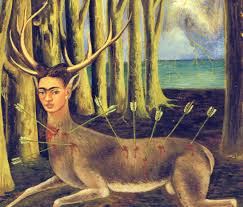 The Most Famous Paintings Epph Kahlo U0027s The Wounded Deer 1946