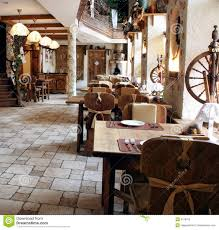 restaurant in country style royalty free stock images image