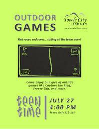Games Like Capture The Flag 07 27 Tt Outside Games Tooele City