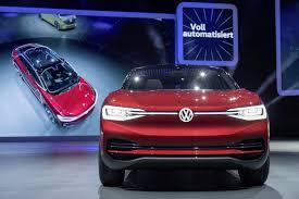 vw id crozz ii previews its 2020 production model at frankfurt