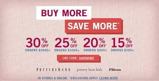 2017 pottery barn buy more save more sale 30 off furniture home