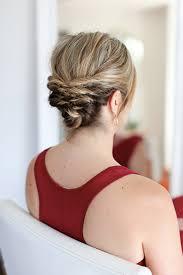 Hochsteckfrisurenen Mittellange Haare Selbstgemacht by Einfache Hochsteckfrisuren Kurze Haare Selber Machen